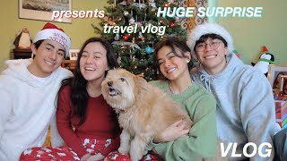 opening xmas presents (HUGE SURPRISE!!) + NEW YEARS VLOG 2020