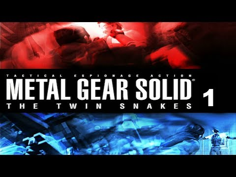 Metal Gear Solid The Twin Snakes - Capitulo 1 - Briefing