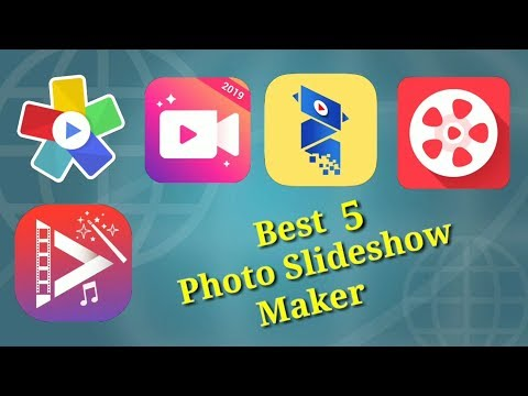 Best 5 Photo Slideshow Maker For Android Smartphone.