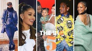 The Big5: Chris Brown aonekana na pete ya ndoa, ujio wa album ya Rihanna, Kylie na Travis ni amani