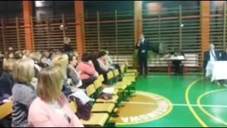 Wspólne posiedzenie Rady Gminy Milówka ws nowej Reformy Oświaty cz. 2
