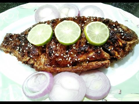 Grilled Fish | With Yummy Sauce |Cook's Art
