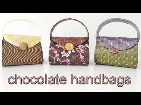 CHOCOLATE HANDBAGS How To Cook That Ann Reardon