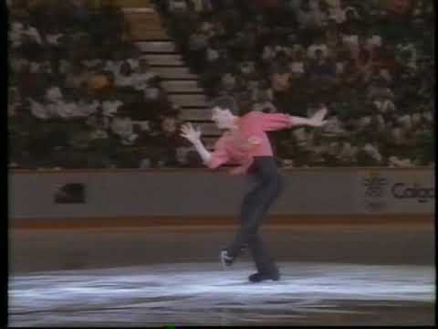 Brian Orser (CAN) - 1988 Calgary, Figure Skating, Exhibitions (Encore)
