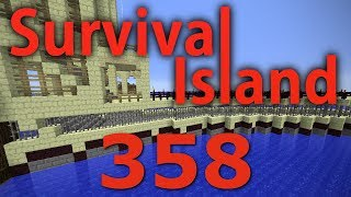 Minecraft- Survival Island [358] Upgrading The Wall!