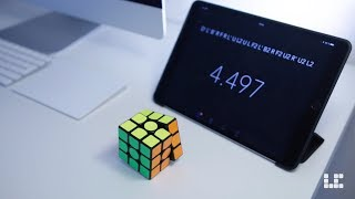 Rubik's Cube Solved in 4.49 Seconds!
