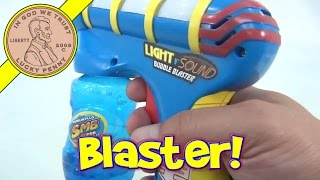 Light and Sound Bubble Blaster Bubble Gun, SMB Toys