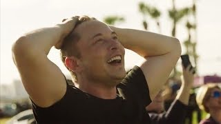 Elon Musk Extremely Emotional Reaction To Falcon Heavy Launch streaming