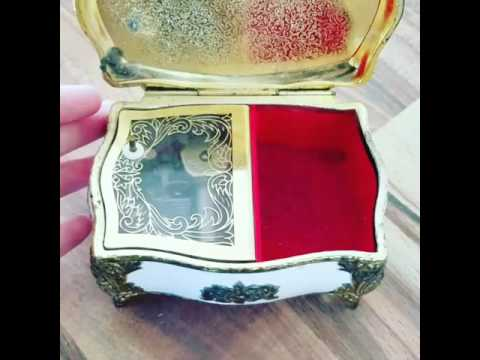 Vintage Persian Music box