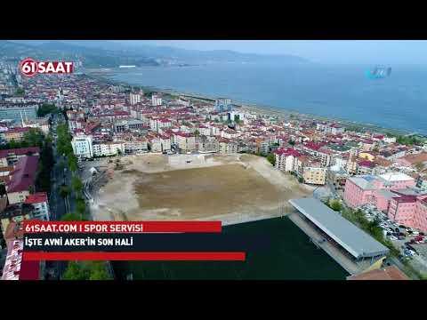 İşte Trabzon'da Hüseyin Avni Aker'in son hali