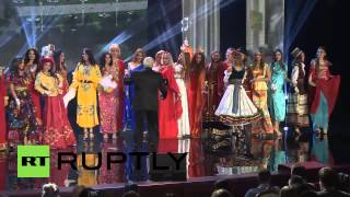 Russia: Ovechkin crowns hottest chick Miss Moscow 2014