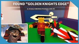 How to Find all 8 Gold Swords in Roblox Ninja Wizard Simulator