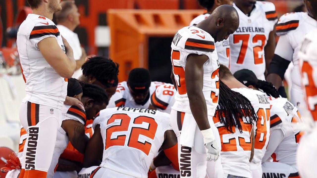 newest f90ec b1974 Seth DeValve on reaction to Browns national anthem protest