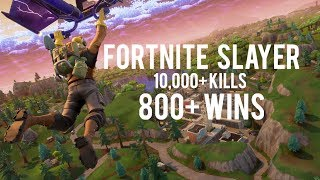 10,000+ KILLS | FORTNITE SLAYER | TILTED TOWERS