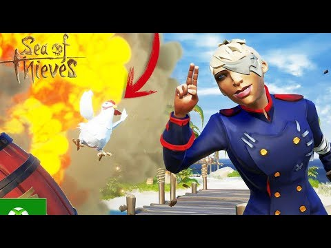 LADRONES DE GALLINAS XDDD - Sea Of Thieves - Nexxuz