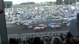 Fulton County Fair Demolition Derby