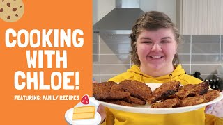 COOKING WITH CHLOE! - FEATURING FAMILY RECIPES! | Chloe Benson