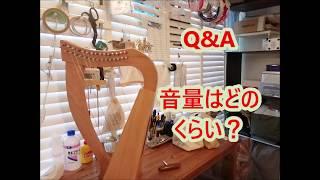 ototsubu harp Q&A 「楽器の音の大きさはどれくらい?」