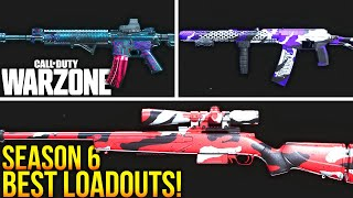 Call Of Duty WARZONE: The BEST LOADOUTS For SEASON 6! (WARZONE Best Setups)