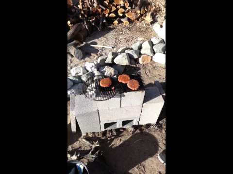 Zach's brick bbq