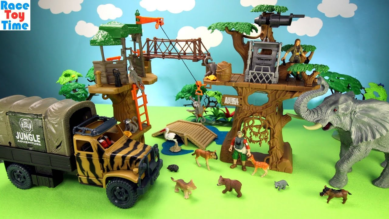 Best Animal Planet Toys For Kids And Toddlers : Animal planet safari treehouse playset toys for kids