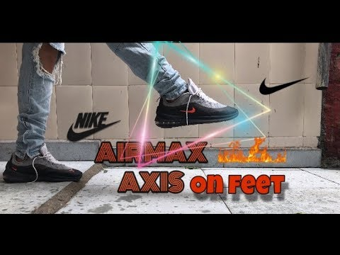 are-these-the-best-airmax-yet??-nike-airmax-axis-on-foot-!!-🔥