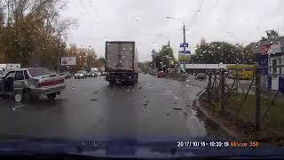 Смертельная Авария Верхняя т. Ульяновск 16.10.2017