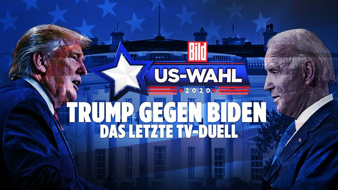 ???Trump gegen Biden LIVE: Das letzte TV-Duell vor der US-Wahl | BILD LIVE Spezial
