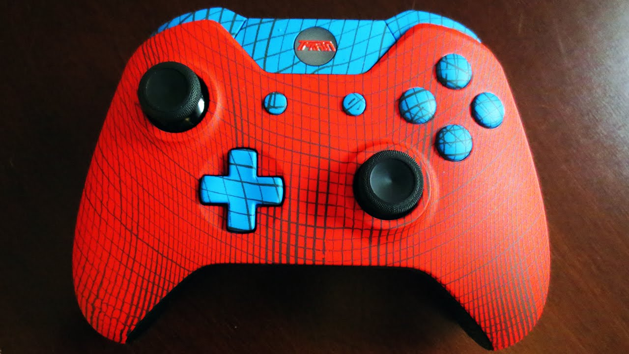 "INTRODUCING: THE TMARTN ""SPIDERMAN"" SCUF! :D - YouTube"