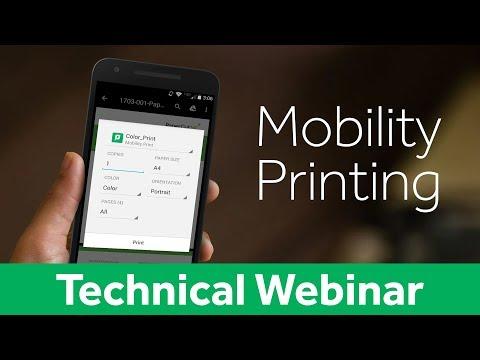 Mobility Printing with PaperCut & PrinterOn   Technical Webinar