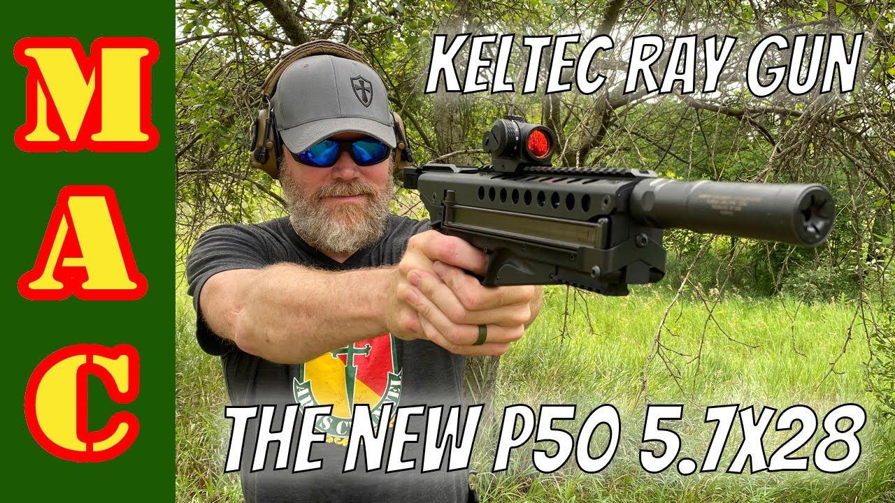 NEW: Keltec P50 handgun in 5.7x28!
