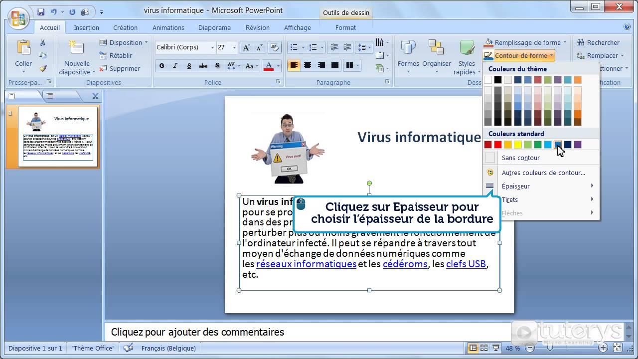 mettre word 2007 en pdf