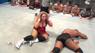 [FREE MATCH] Intergender Match Brooke Danielle v Darius Carter II W.O.W Unreleased Vol 11