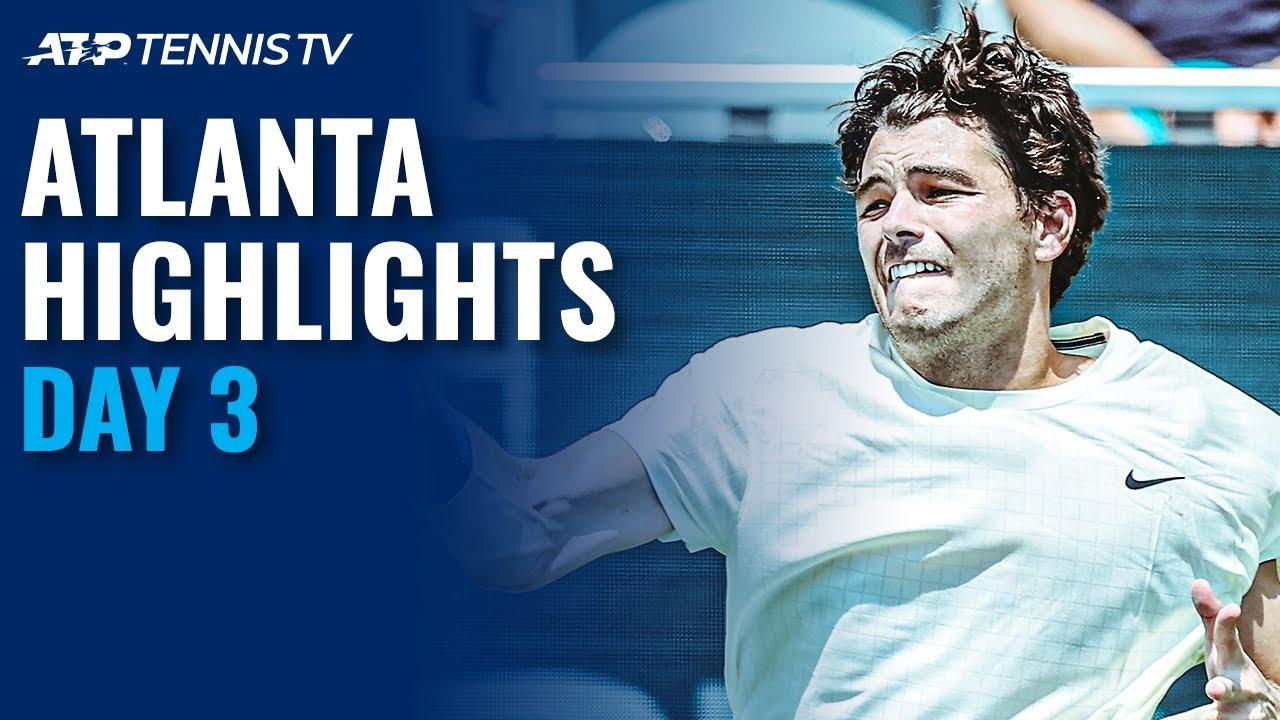 Raonic Makes Atlanta Debut: Fritz, Opelka Also in Action | Atlanta Open Day 3 Highlights