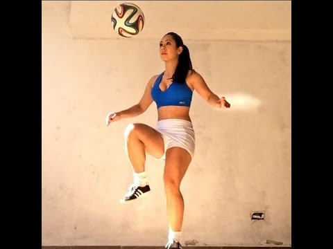Female Freestyle Football Skills