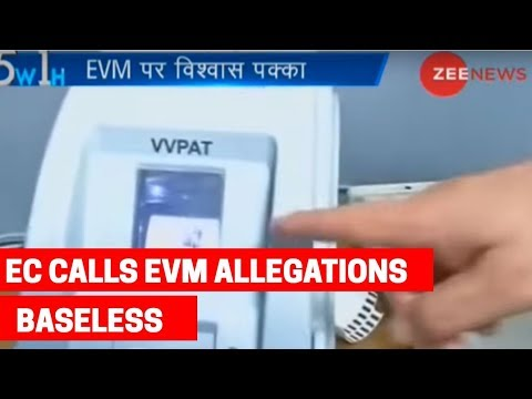 5W1H: Election Commission calls Opposition claims of EVM movement 'baseless'