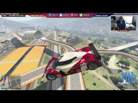 The Mid-Air Overtake Nudge (GTA Online) [Twitch]
