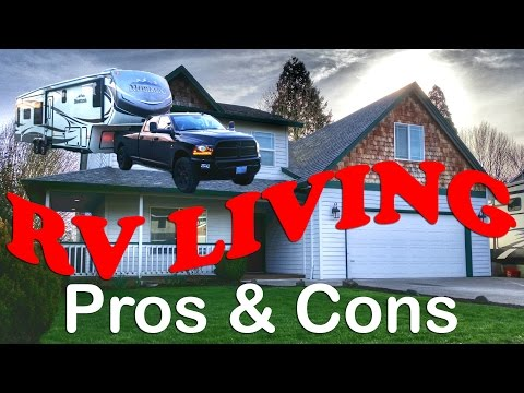 Full Time RV Living Challenges and Benefits - Pros & Cons RV Life