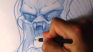 How to Draw Predator 2/2 - Easy Things To Draw