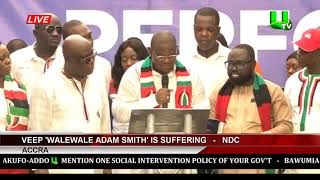 VEEP 'Walewale Adam Smith' Is Suffering   -   NDC