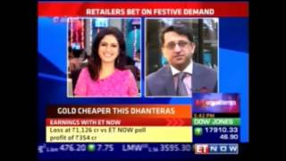 Mr. Rajiv Popley talks about the jewellery buying trends this festive season on ET Now