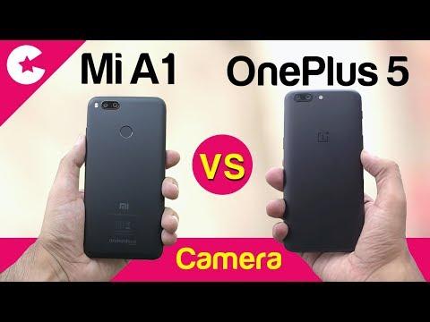 Xiaomi Mi A1 vs OnePlus 5 (Camera Comparison) - Which One is BETTER!!