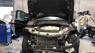Mercedes Benz ML350 Restoration and Repair - Accident Car Repair Shop