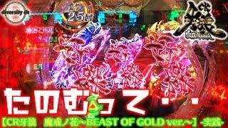 【CR牙狼 魔戒ノ花~BEAST OF GOLD ver.~】-実践-なんだと?好機だと!?の巻