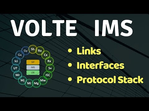 6. VoLTE IMS Interfaces , Links & Protocol Stack