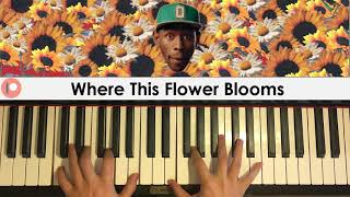 Tyler The Creator - Where This Flower Blooms (Piano Cover) | Patreon Dedication #378