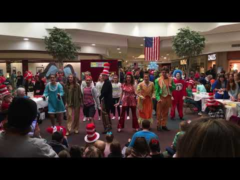 Century High's Seussical Cast at Westminster Mall