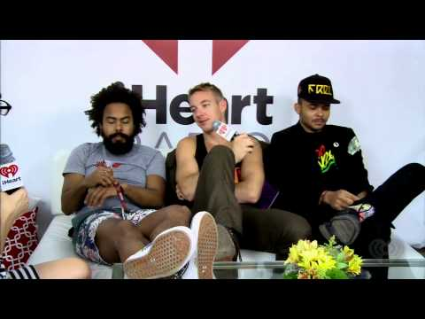 Major Lazer Interview @ Lollapalooza
