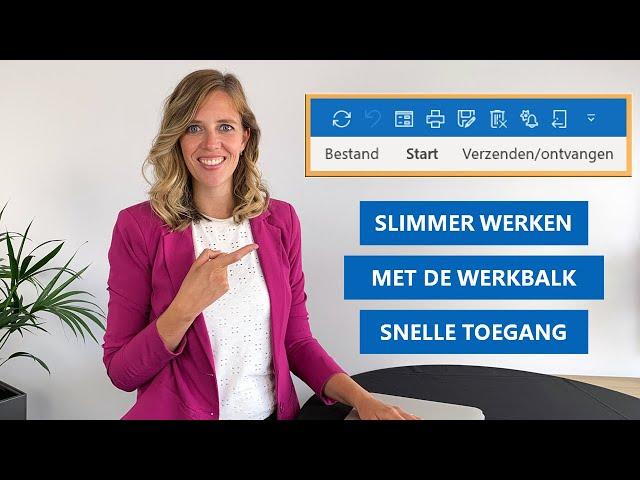 Werkbalk Snelle Toegang | Hoe werkt het en wat kan je ermee?