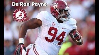 Da'Ron Payne ||